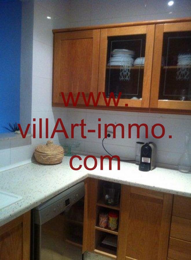 3-Location-Appartement-Meublé-Tanger-Cuisine-L748-Villart immo