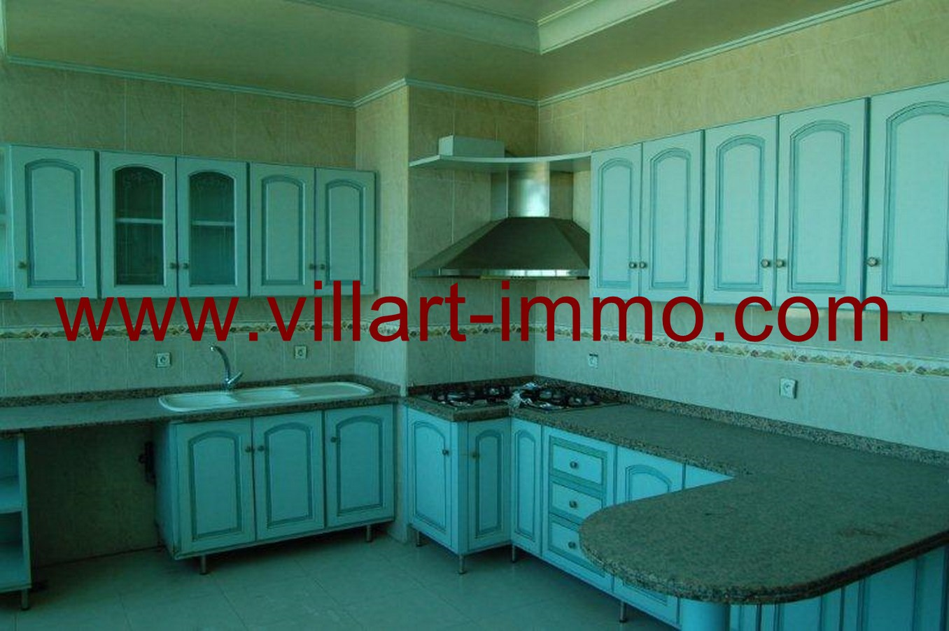 3-Location-Appartement-Non meublé-Tanger-Cuisine-L662-Villart immo