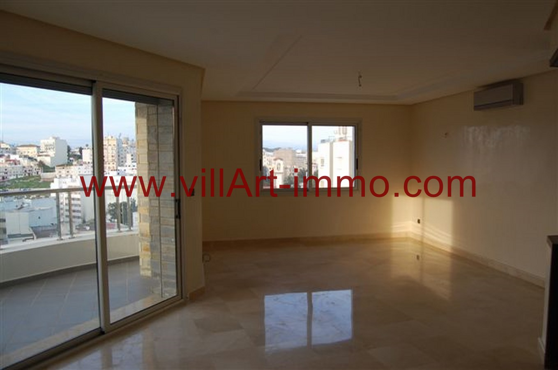 3-Location-Appartement-Non meublé-Tanger-Salon 2-L746-Villart immo