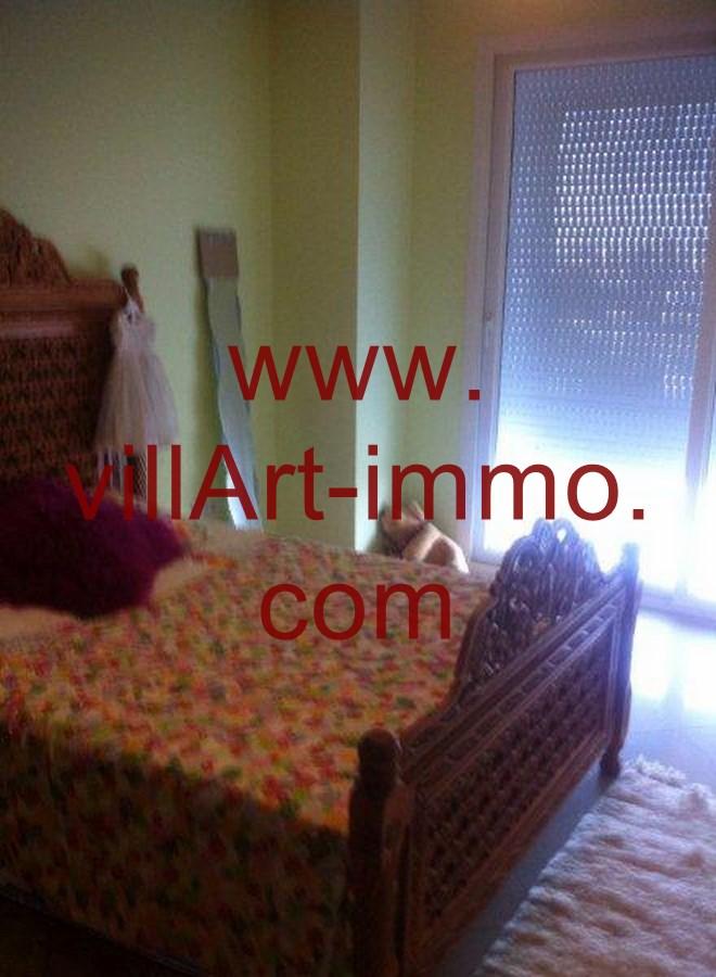 4-Location-Appartement-Meublé-Tanger-Chambre 1-L748-Villart immo