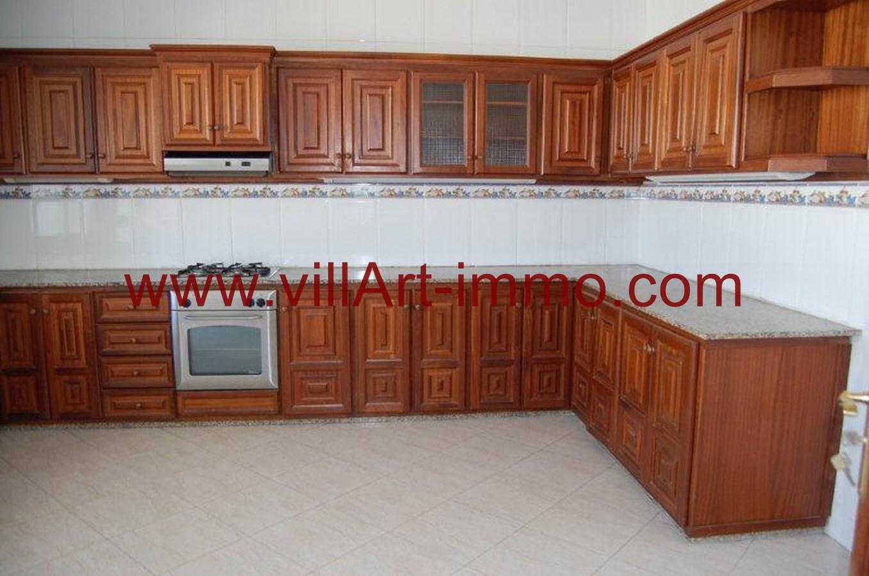 4-Location-Appartement-Non meublé-Tanger-Cuisine-L734-Villart immo