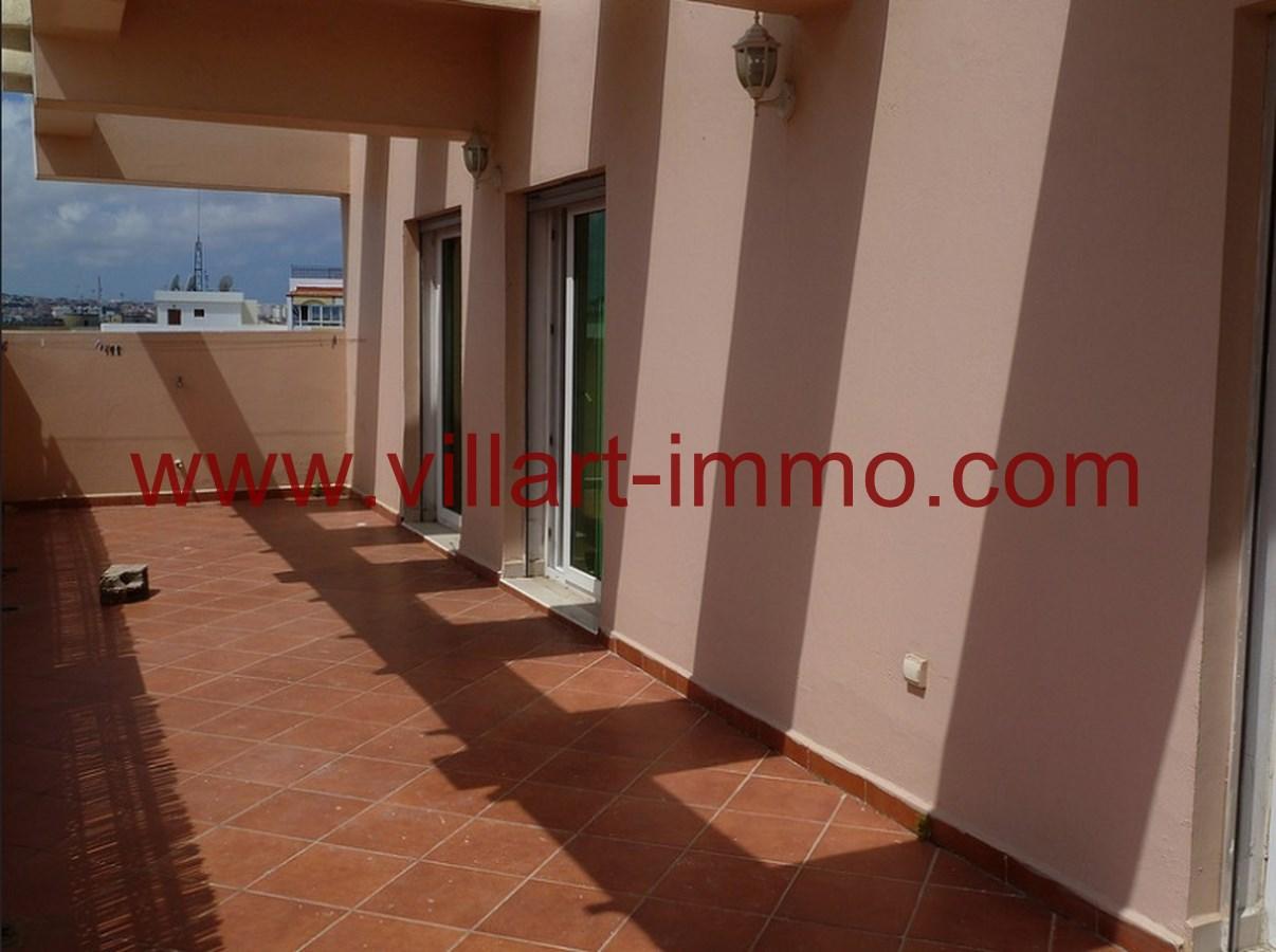 4-Location-Appartement-Non meublé-Tanger-Terrasse-L718-Villart immo