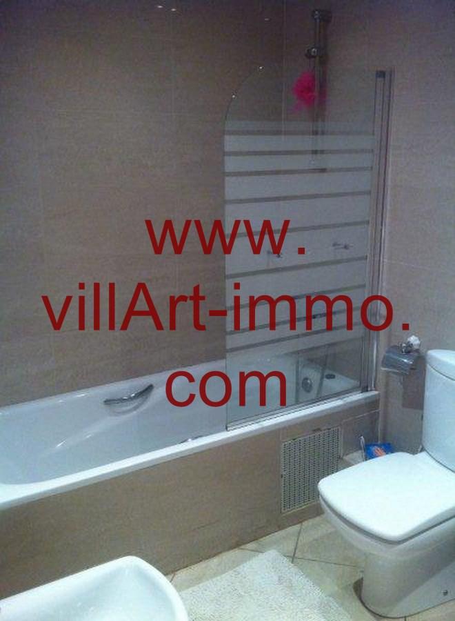 5-Location-Appartement-Meublé-Tanger-Salle de bain-L748-Villart immo