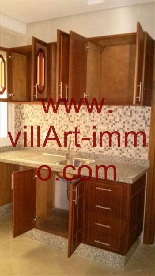 5-Location-Appartement-Non meublé-Tanger-Cuisine-L706-Villart immo