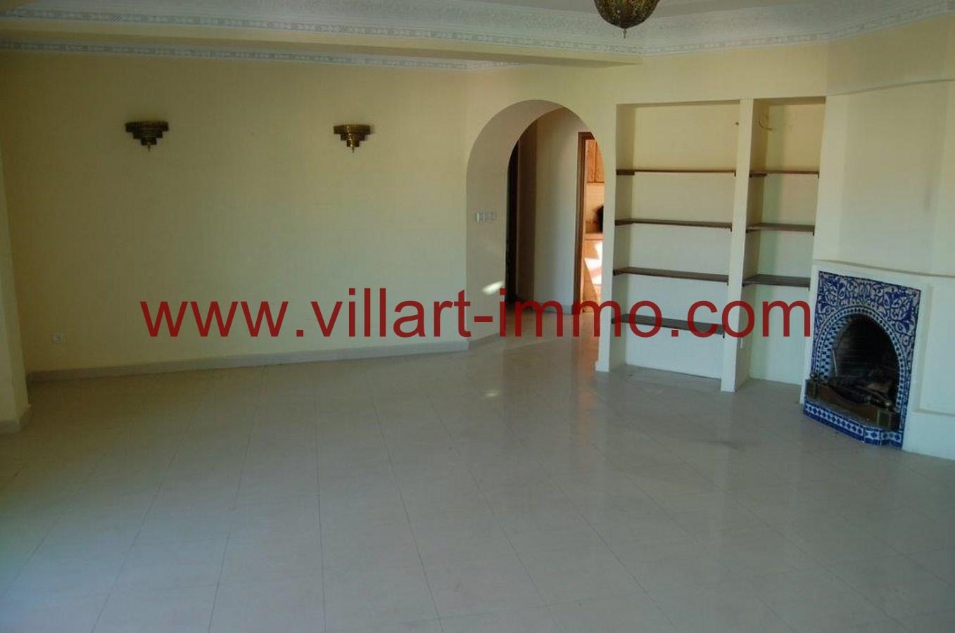 5-Location-Appartement-Non meublé-Tanger-Salon-L718-Villart immo