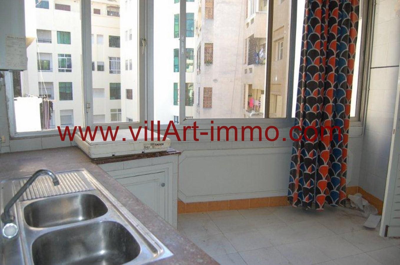 5-Location-Appartement-Tanger-Centre ville-Cuisine 2-L762-Villart immo