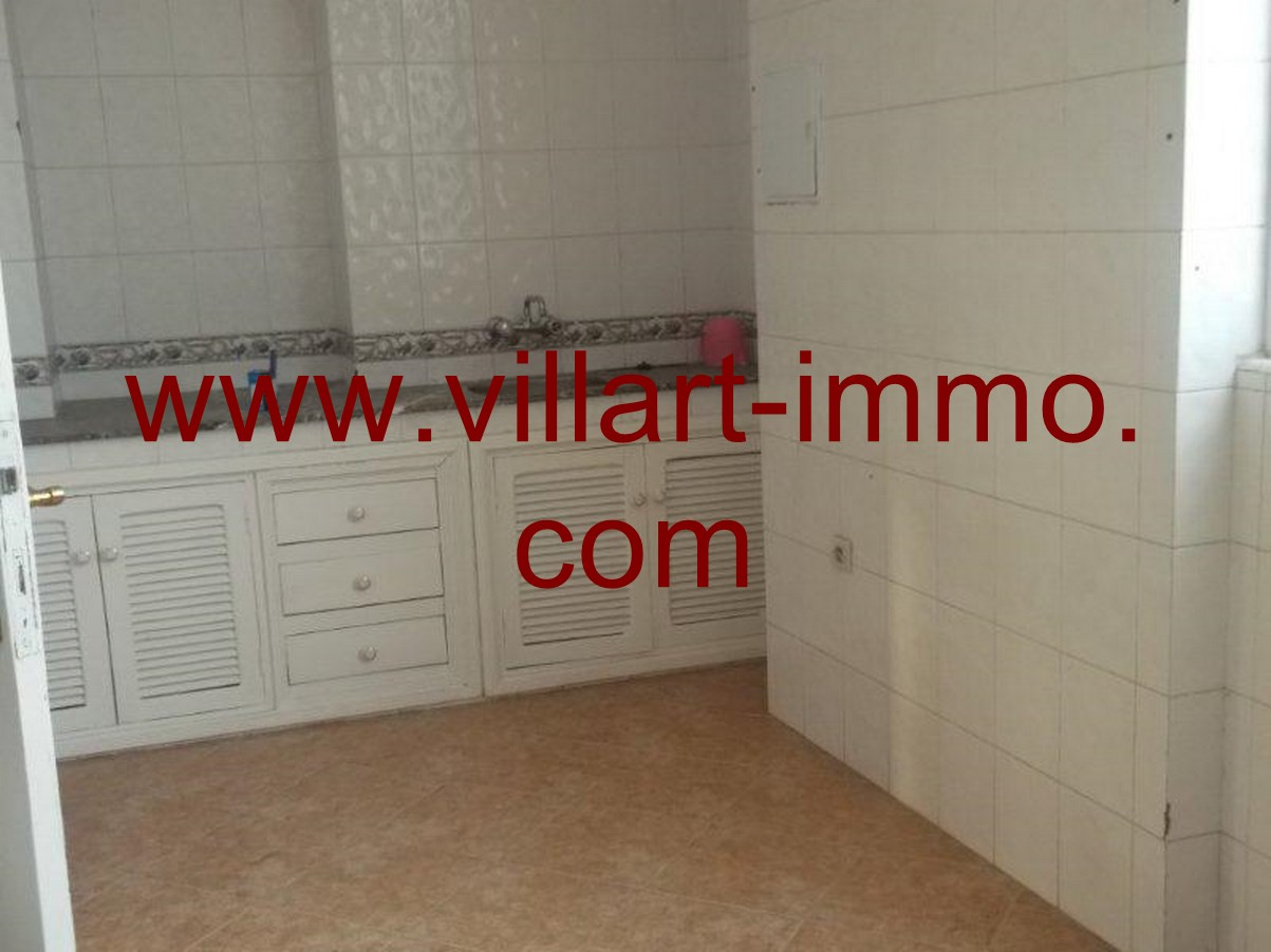 5-Location-Appartement-non meublé-Tanger-cuisine -L616-Villart-immo
