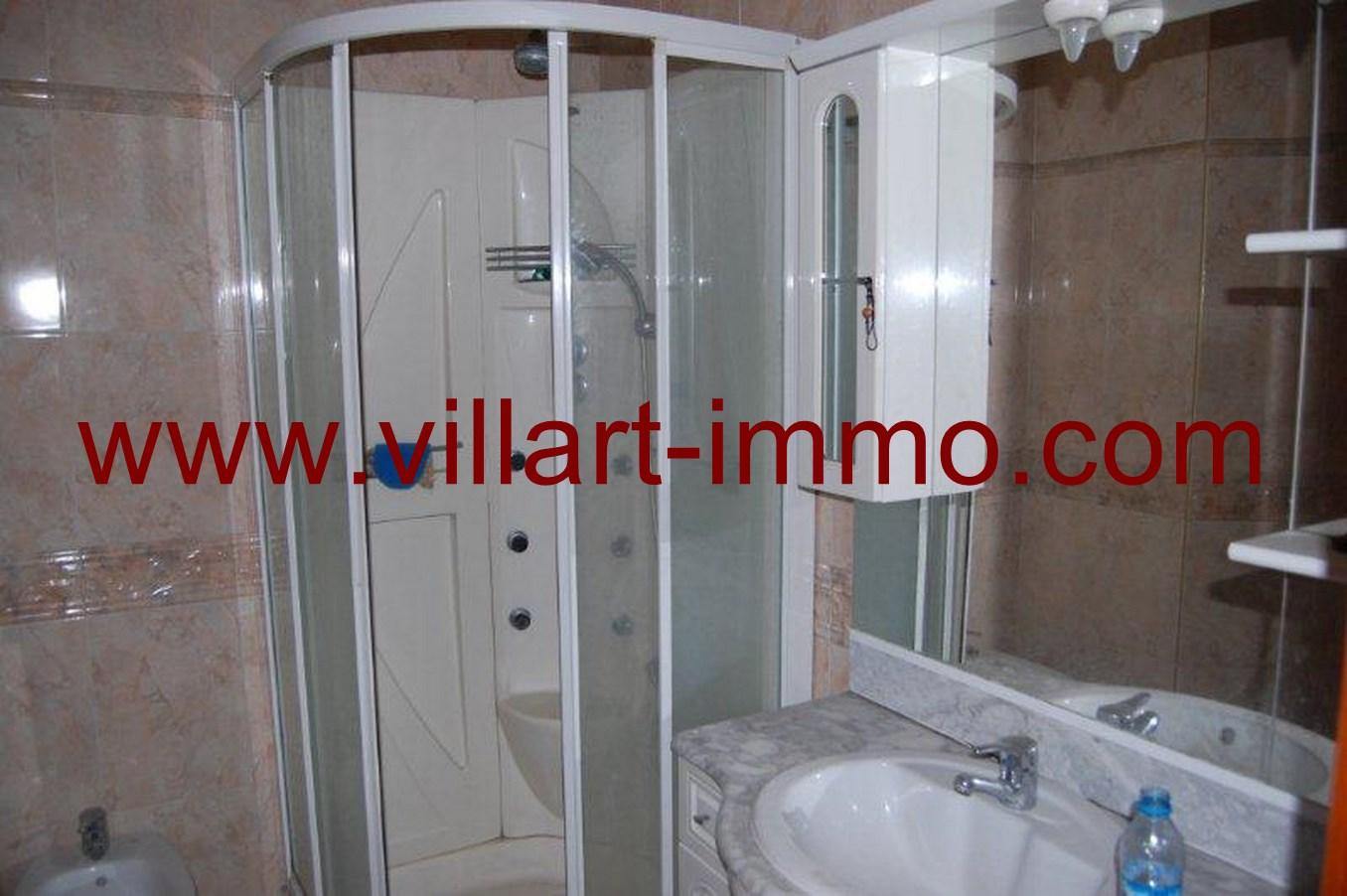 6-Location-Appartement-Non meublé-Tanger-Salle de bain-L662-Villart immo