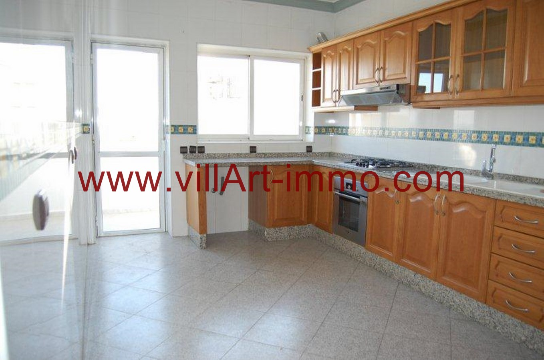 6-Location-Appartement-Non meublé-Tanger-cuisin-L763-Villart-immo