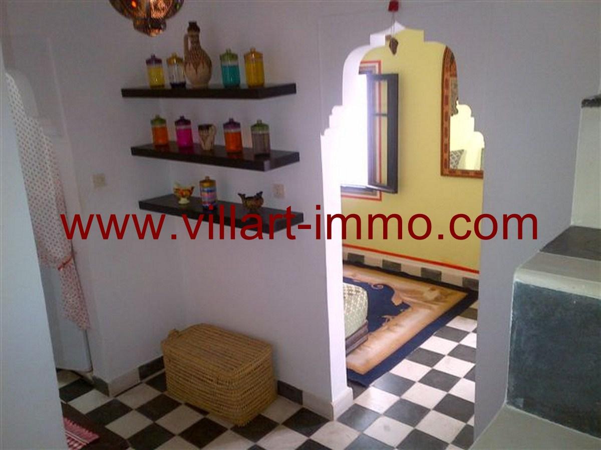 6-Location-Tanger-Maison-Kasbah-L322- couloir 2