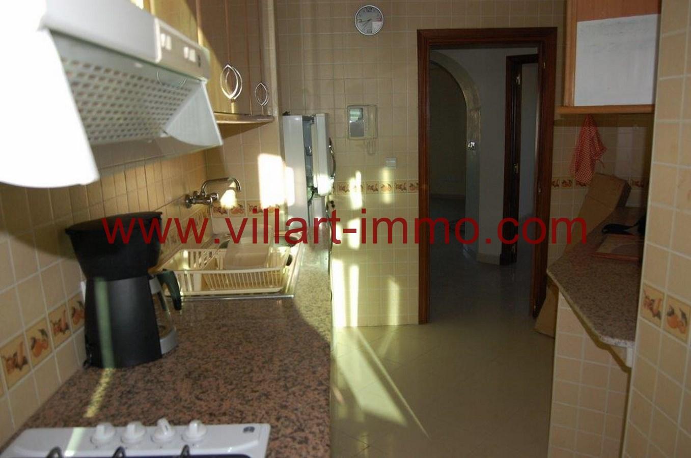 7-Location-Appartement-Non meublé-Tanger-Cuisine-L718-Villart immo