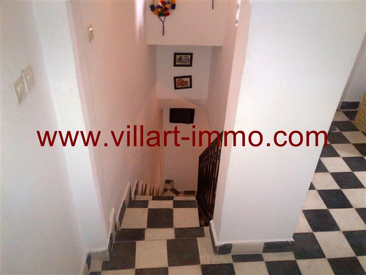 7-Location-Tanger-Maison-Kasbah-L322-Escalier