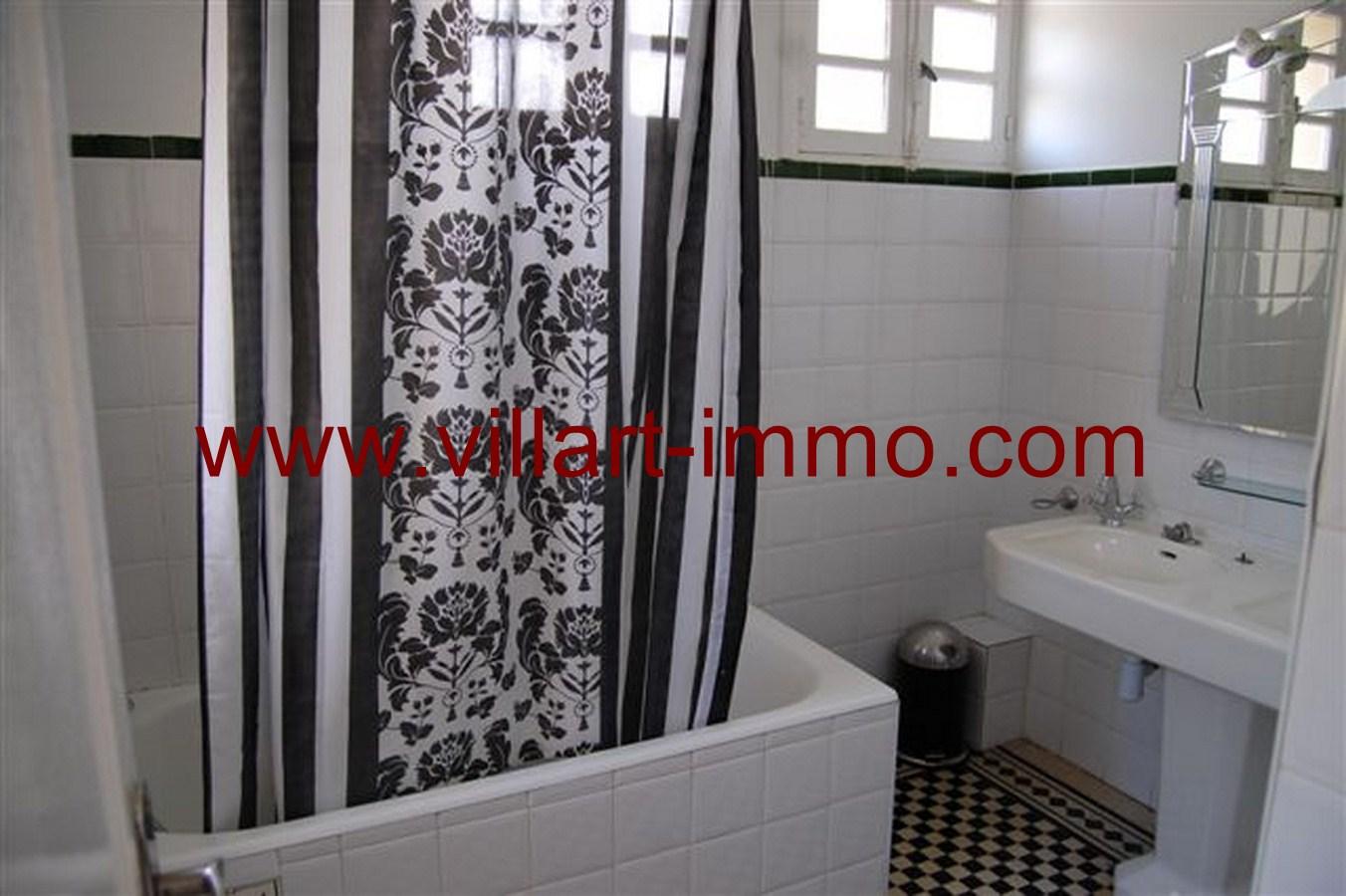9-Location-Maison-Non-Meublée-Tanger-Salle de bain-LV312