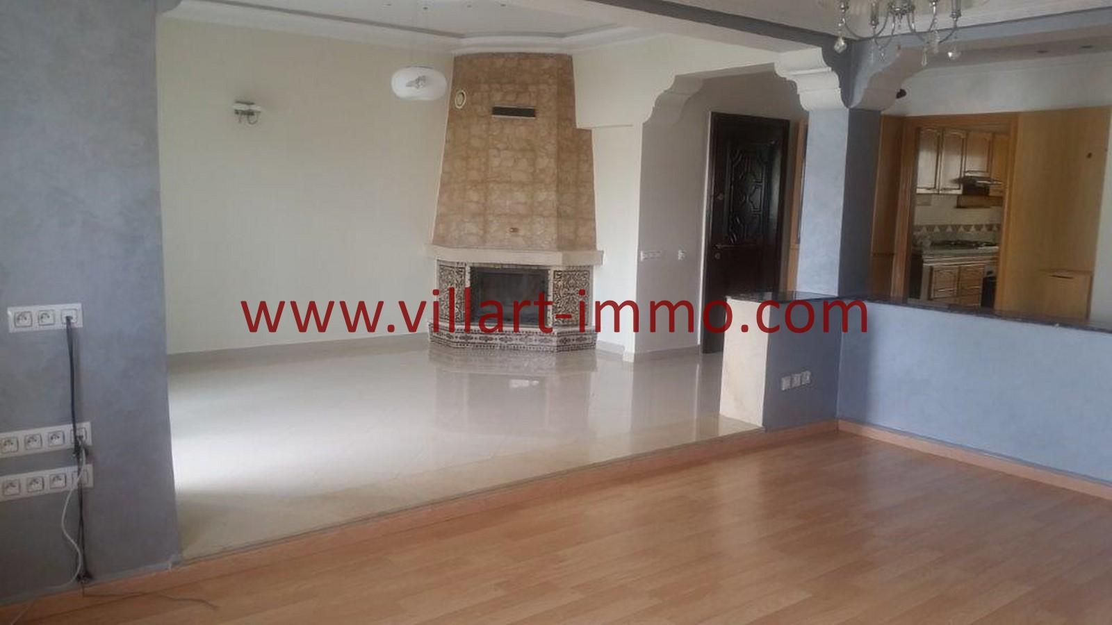 1-Location-appartement-Non meublé-Tanger-Californie-salon-L1028