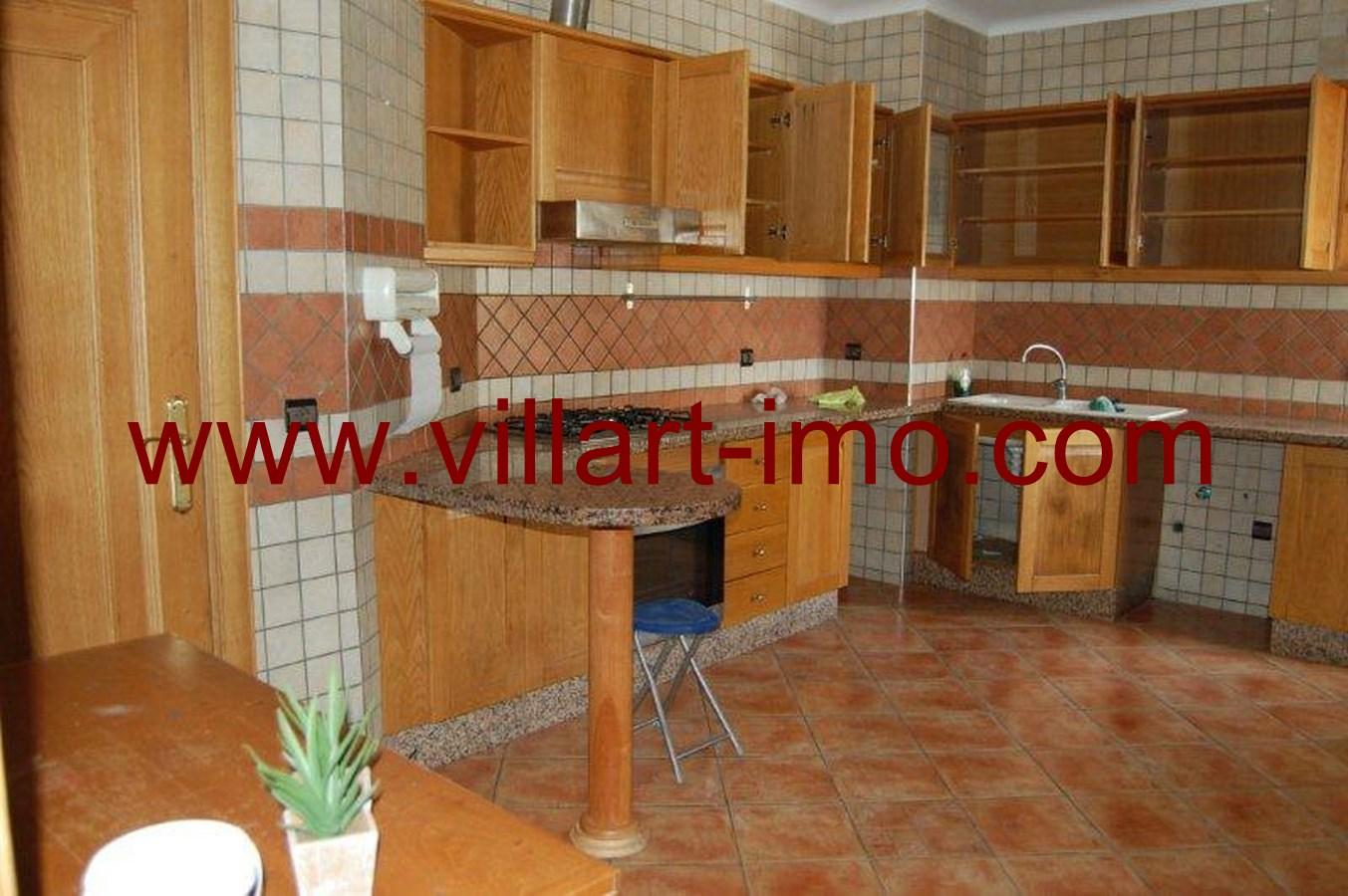 4-Location-Appartement-Non meublé-Tanger-Iberia-Cuisine-L484-Villart immo