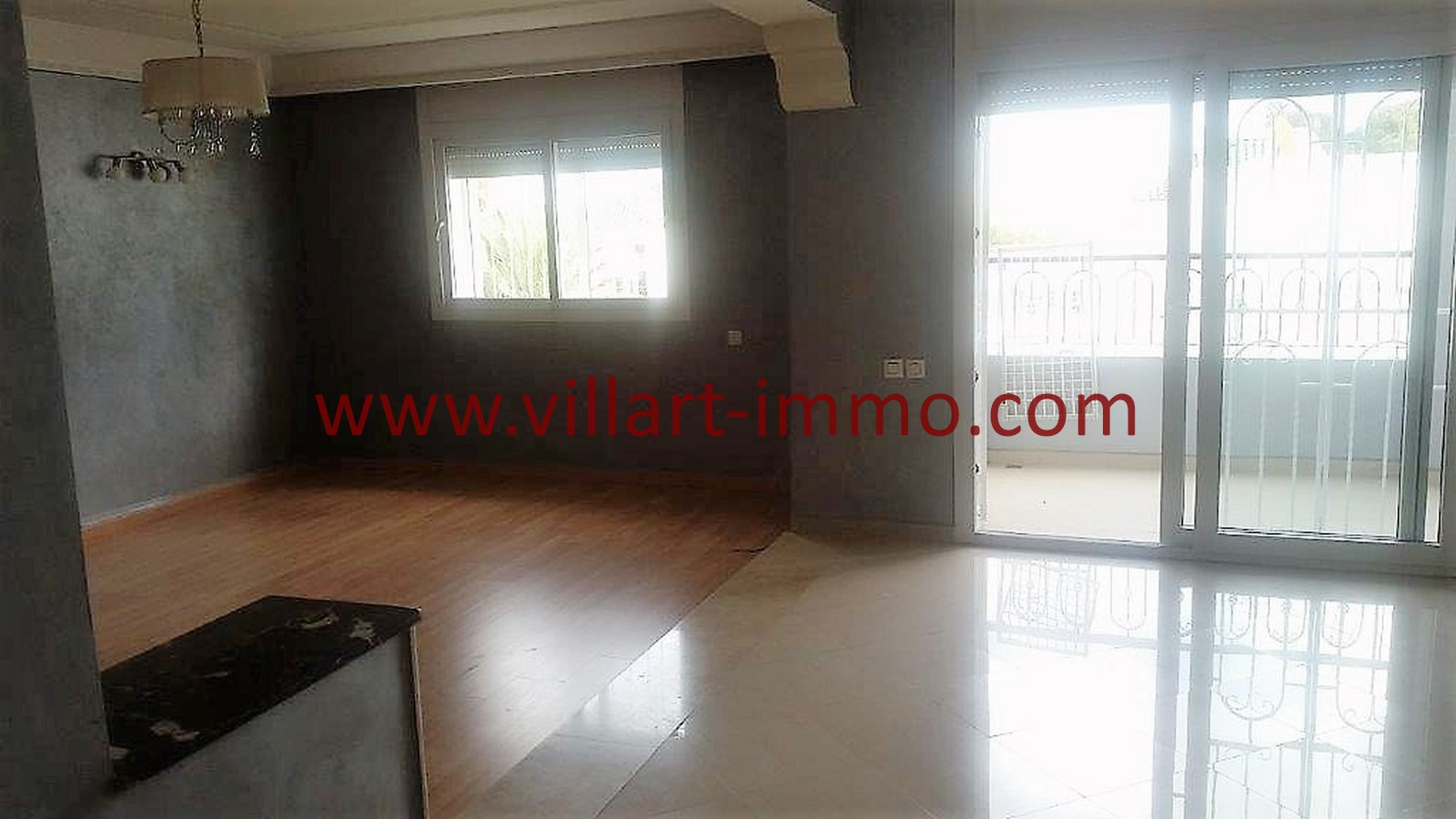 4-Location-appartement-Non meublé-Tanger-Californie-Salon-L1028