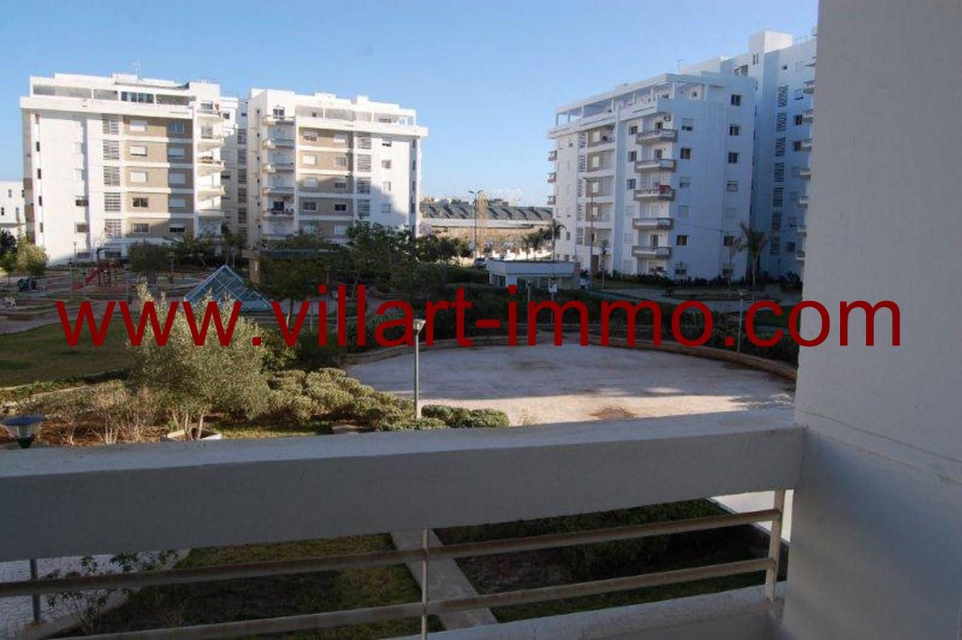 6-Location-Tanger-Appartement-Non meublé-L603-Balcon