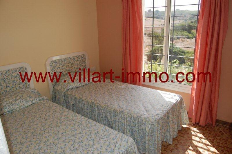 4-Location-Villa-Tanger-Achakar-Meublé-Chambre 3-LV726-Villart immo