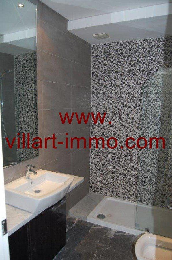 5-A louer-Appartement-Non meublé-Tanger-Salle de bain 2-L905-Villart immo