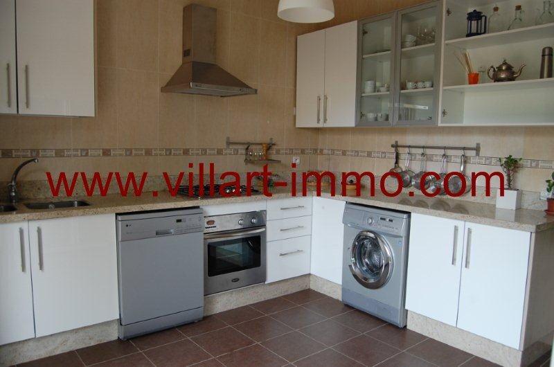 8-Location-Villa-Tanger-Achakar-Meublé-Cuisine-LV726-Villart immo