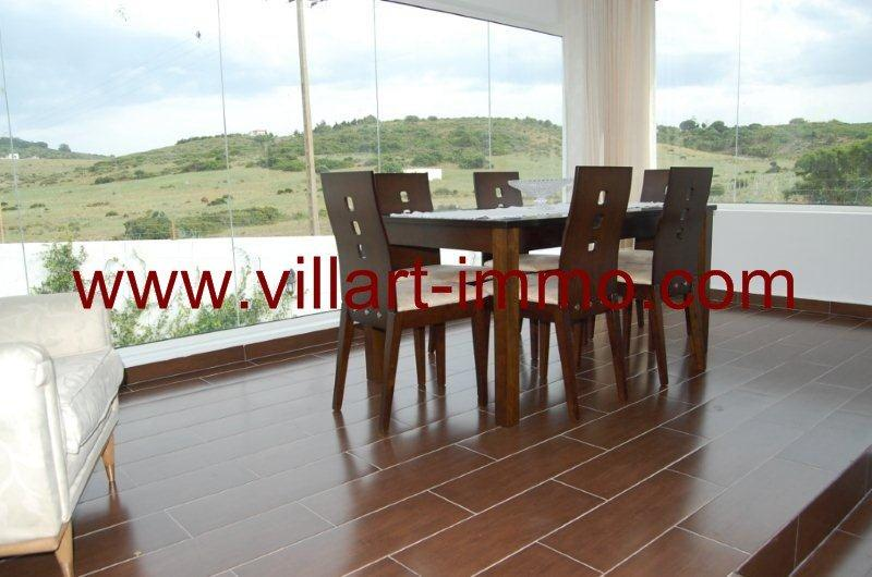 9-Location-Villa-Tanger-Achakar-Meublé-Salle à manger-LV726-Villart immo