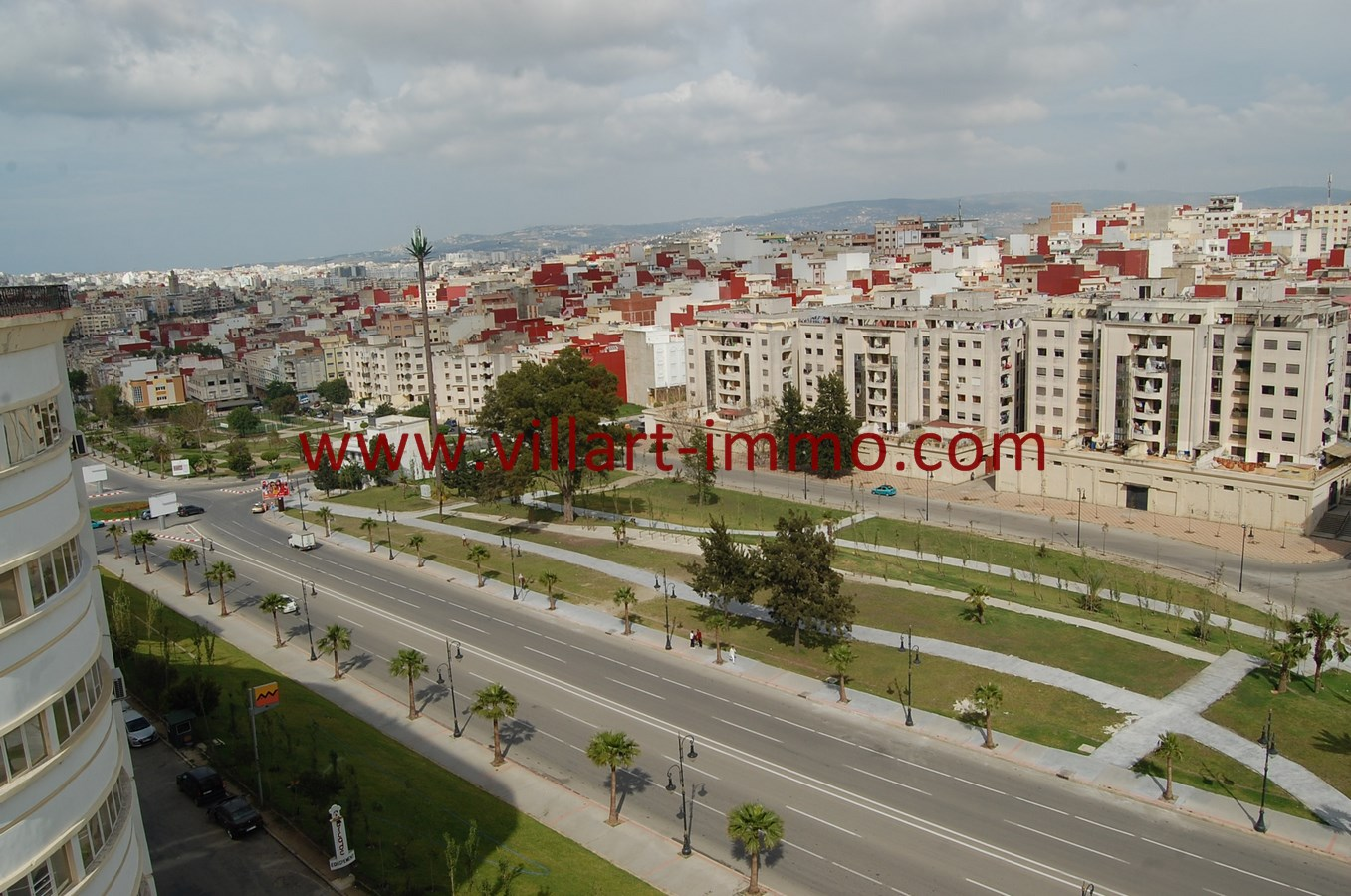 1 Vente Appartement Tanger Route de Rabat Vue VA494 Villart Immo