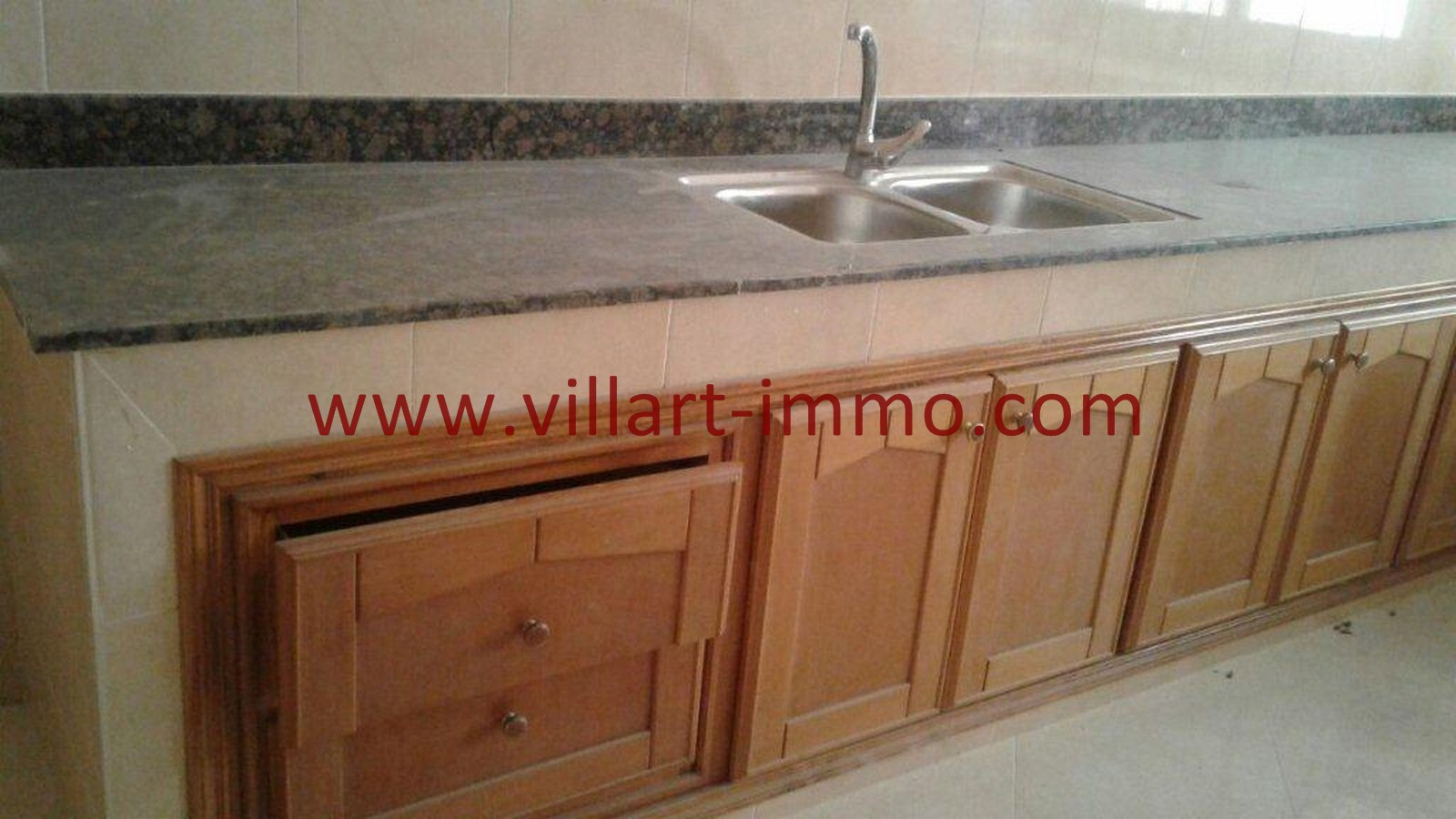 3-Vente-Maison-Tanger-Mojahidine -Cuisine 1-VM500-Villart Immo