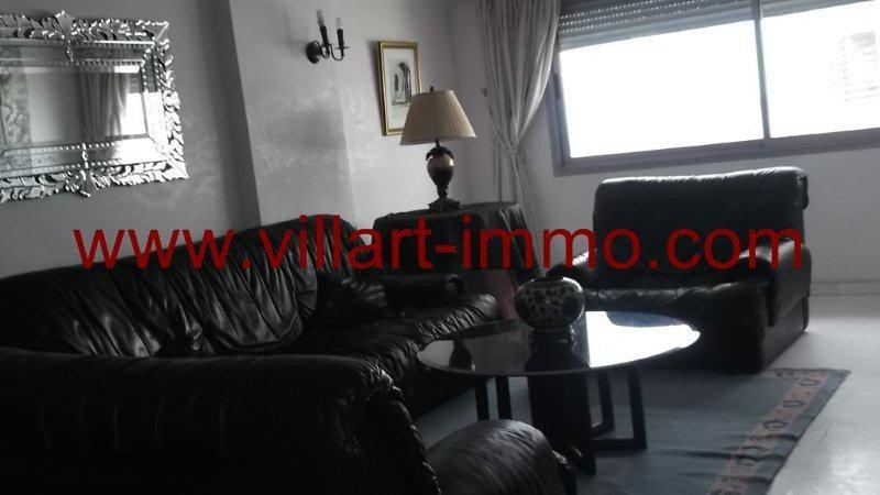1-Location-Appartement-Meublé-Centre ville-Tanger-Salon 1-L951-Villart immo