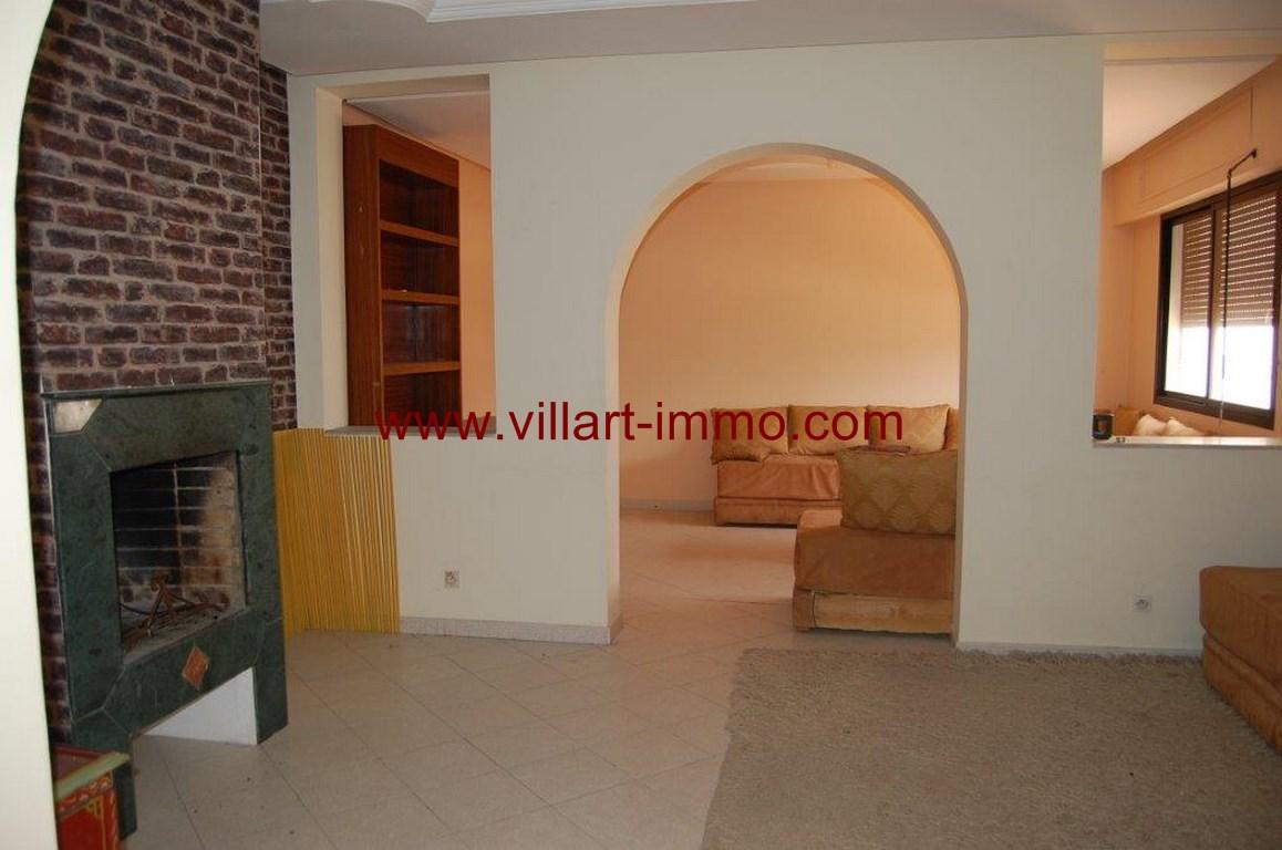 1-location-appartement-non meublé-Tanger-centre ville-Salon 1-L1053