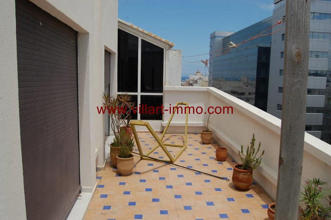 11-location-appartement-non meublé-Tanger-centre ville- terrasse 3-L1053