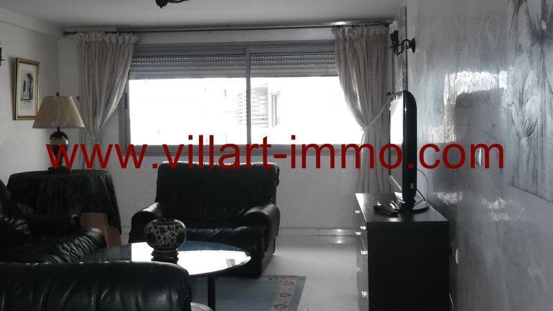 2-Location-Appartement-Meublé-Centre ville-Tanger-Salon 2-L951-Villart immo