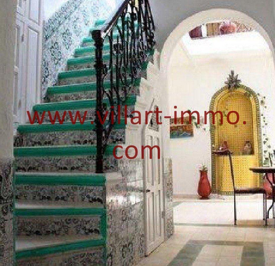 7-Vente-Maison-Assilah-Médina-Escalier -Villart Immo (Copier)