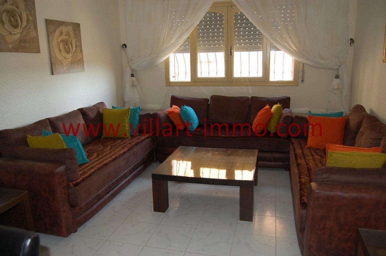1-Vente-Appartement-Tanger-Salon 1-VA530-Villart Immo
