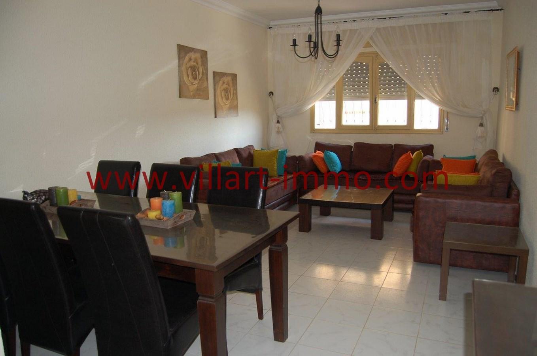 2-Vente-Appartement-Tanger-Salon 2-VA530-Villart Immo