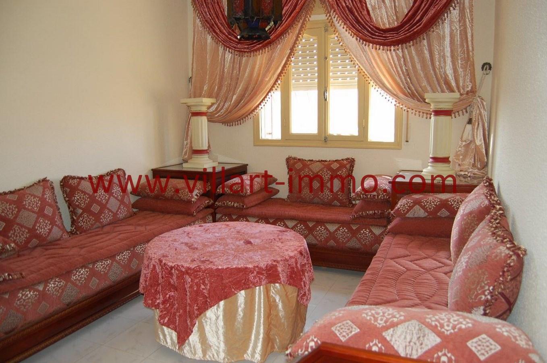 4-Vente-Appartement-Tanger-Séjour 1-VA530-Villart Immo
