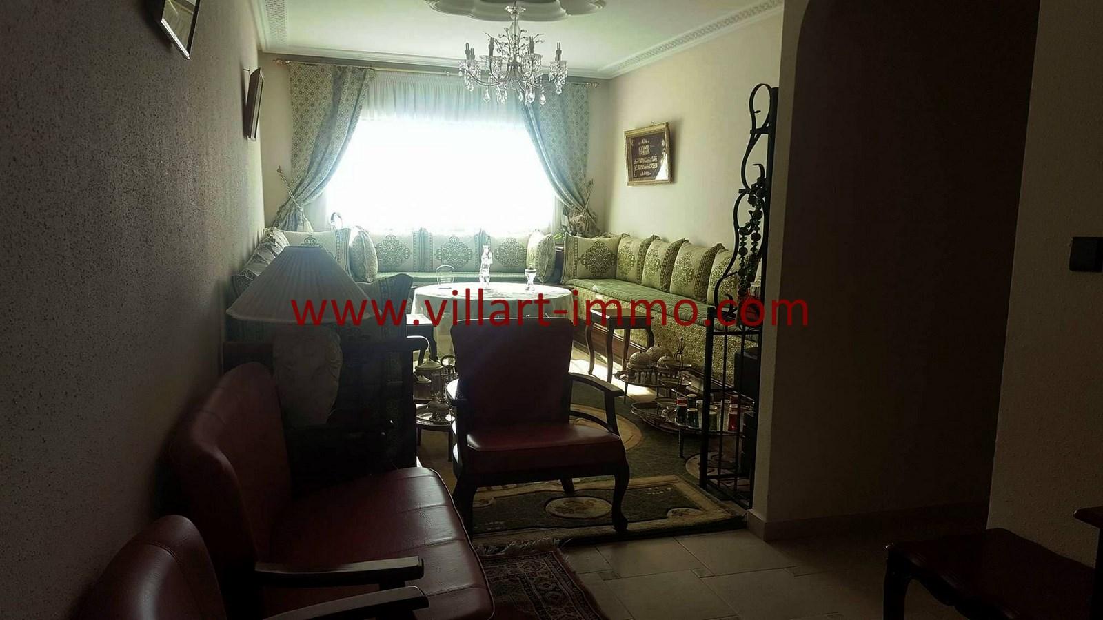 4-Vente-Appartement-Centre-ville-Tanger-Salon-VA531-Villart Immo