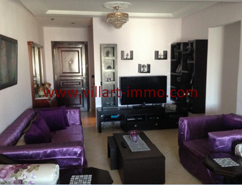 1-Vente-Appartement-Centre Ville-Tanger-Séjour-VA538-Villart Immo (Copier)