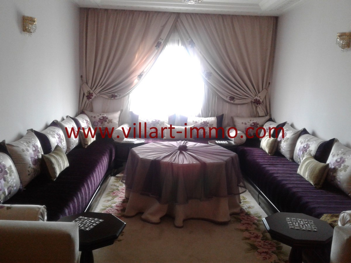 2-Vente-Appartement-Centre Ville-Tanger-Salon-VA538-Villart Immo (Copier)