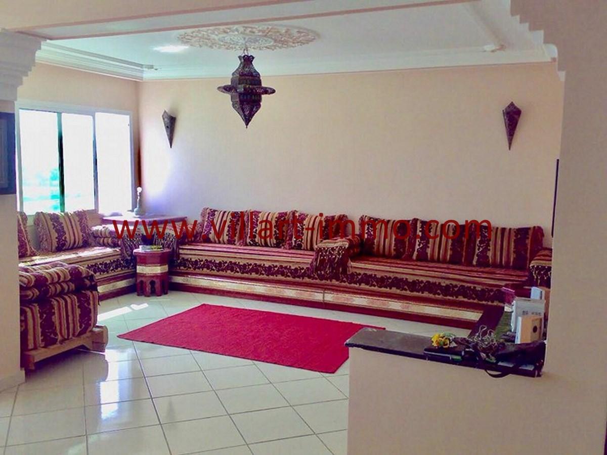 2-Vente-Appartement-Tanger-Centre Ville-Salon 1-VA539-Villart Immo