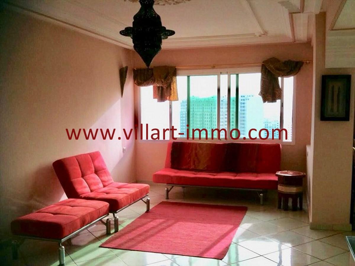3-Vente-Appartement-Tanger-Centre Ville-Salon 2-VA539-Villart Immo