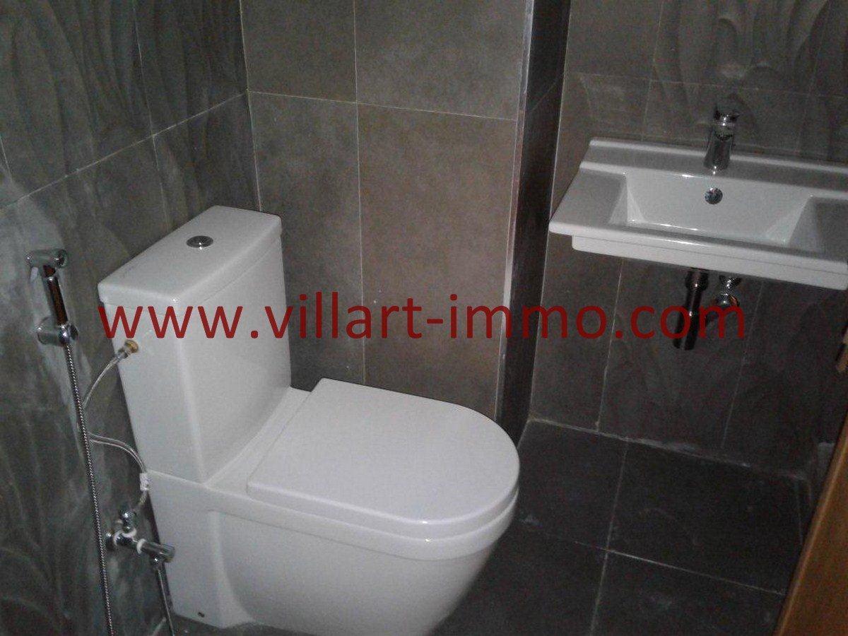 7-Vente-Appartement-Centre-ville-Tanger-Toilette de service-VA537-Villart Immo