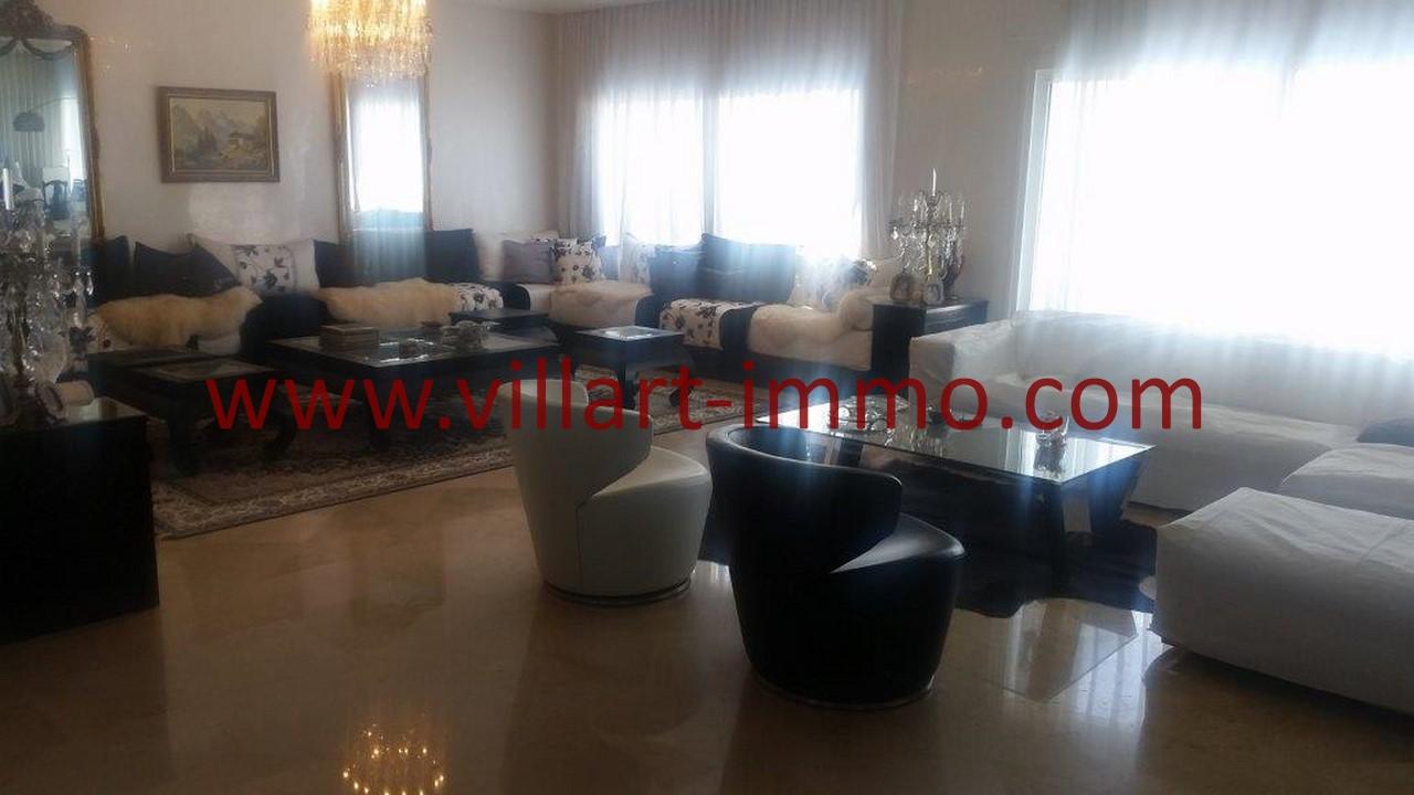 3-Location-Villa-Meublée-Tanger-Tanja Balia-Salon-LV1092