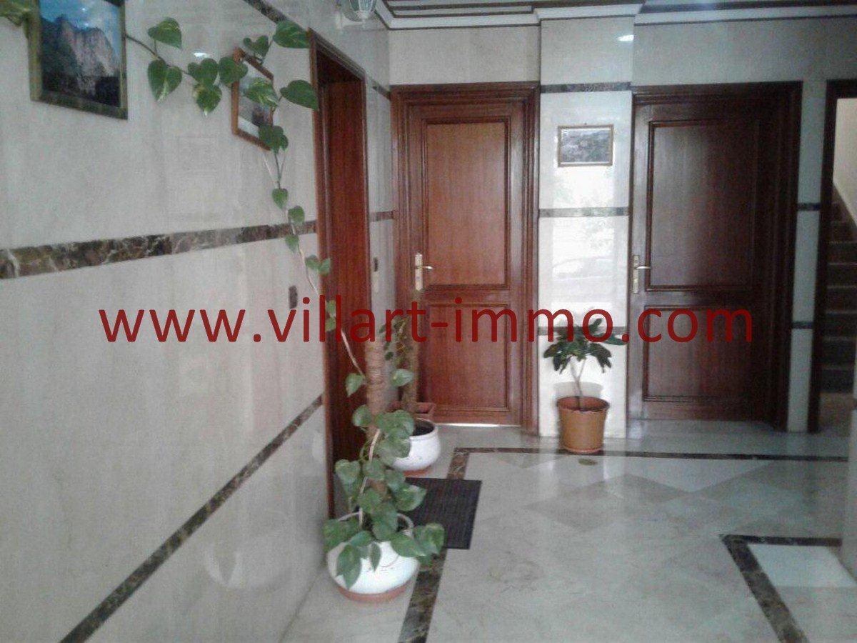 1-Vente-Appartement-Tanger-Hopitale espagnole-Entrée-VA552-Villart Immo