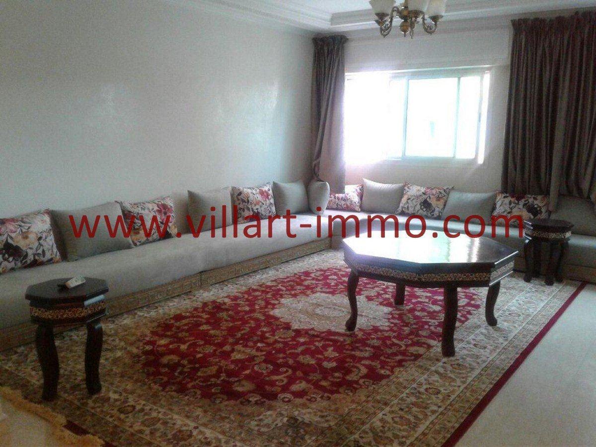 2-Vente-Appartement-Tanger-Hopitale espagnole-Salon 1-VA552-Villart Immo