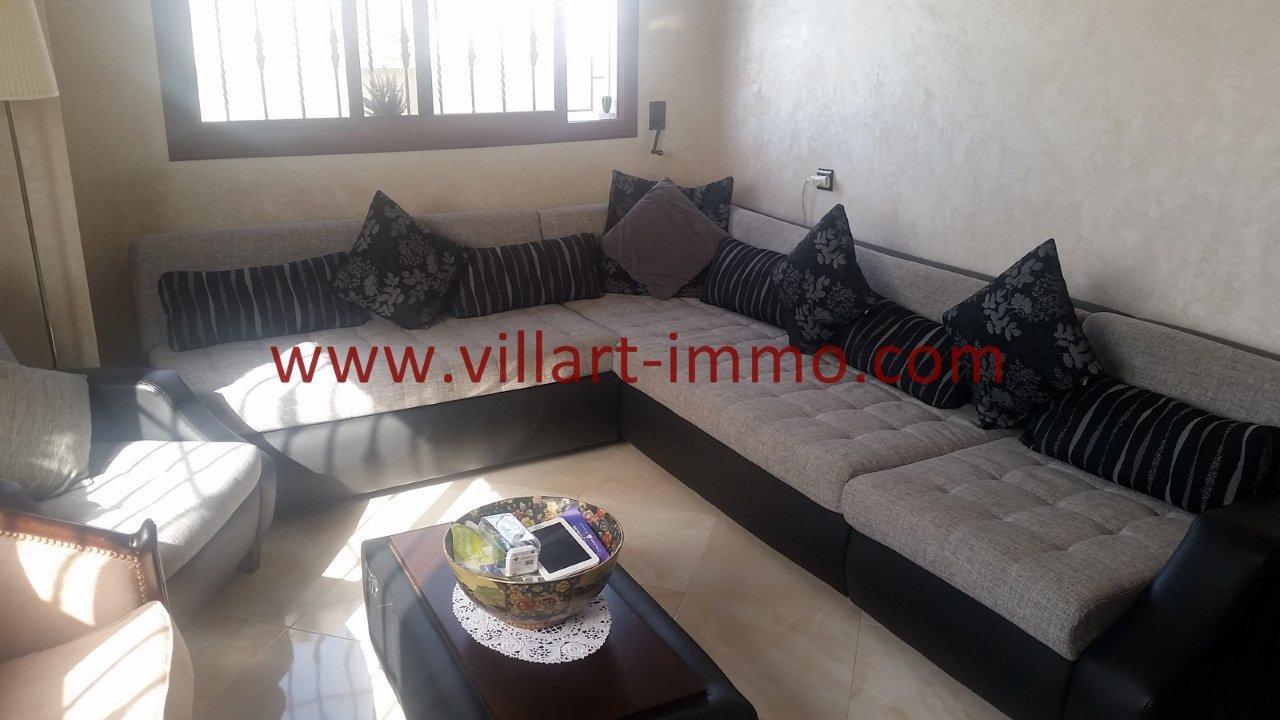 2-Vente-Appartement-Tanger-Moujahidine-Salon 2-VA548-Villart Immo
