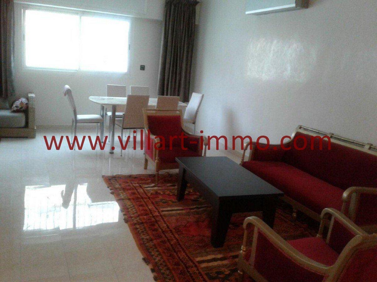 3-Vente-Appartement-Tanger-Hopitale espagnole-Salon 2-VA552-Villart Immo