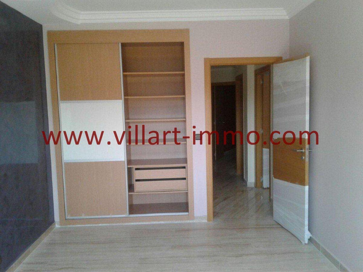 3-Vente-Appartement-Tanger-Malabata-Chambre à coucher 1-VA553-Villart Immo