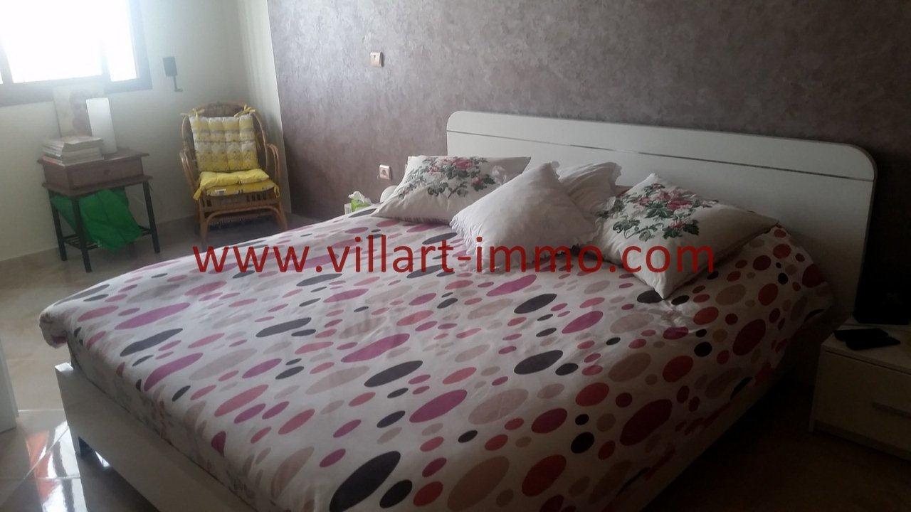 3-Vente-Appartement-Tanger-Moujahidine-Chambre à Coucher -VA548-Villart Immo