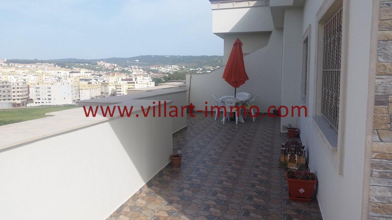 4-Vente-Appartement-Tanger-Moujahidine-Terrasse 1 -VA548-Villart Immo
