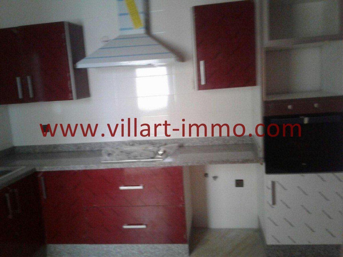 5-Vente-Appartement-Tanger-Malabata-Cuisine 1-VA553-Villart Immo